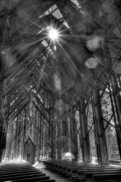ANTHONY CATHEDRAL CHAPEL - Garvan Woodland Gardens