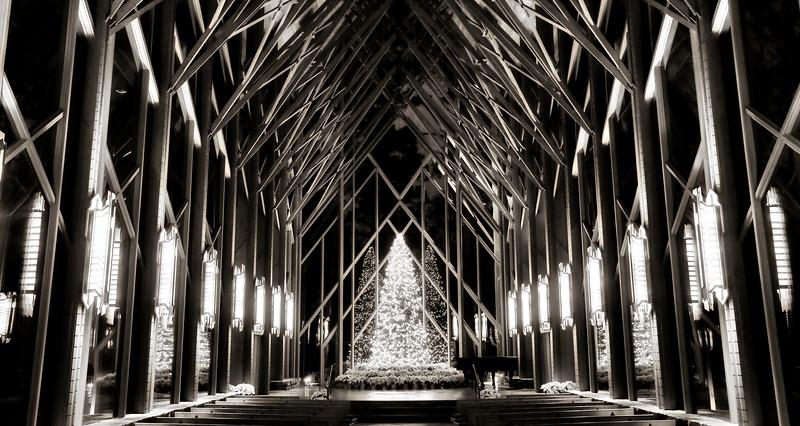Anthony Chapel - Garvan Woodland Gardens - Christmas 2016