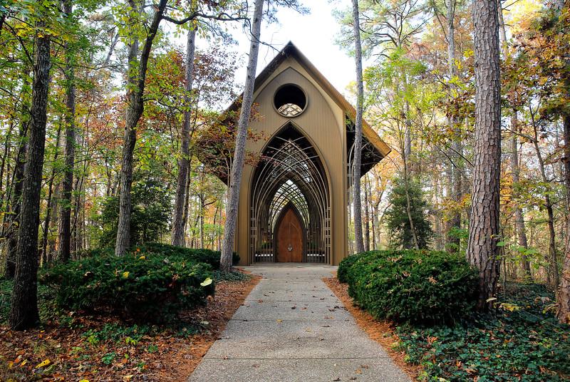 MILDRED B. COOPER MEMORIAL CHAPEL -  Bella Vista,  Arkansas - Fall