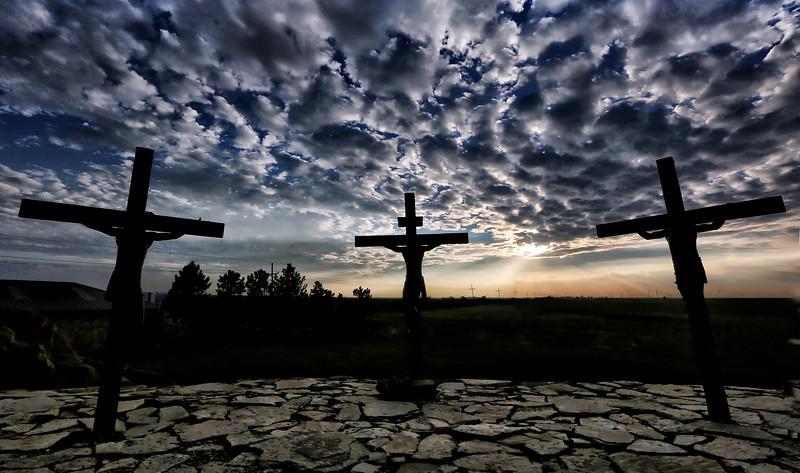 Walk into the Light - The Cross - Groom, Texas