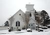 Trinity Lutheran Church - Oldest Church in Mena, Arkansas - Winter 2021