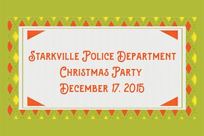 2015-12-17 FBC Starkville Police Party