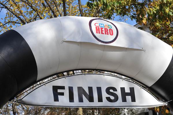 FINISH - Half Marathon 2013-10-20