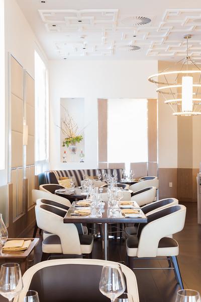 Bocuse Restaurant in Afternoon light