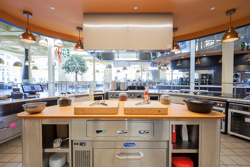 THe Inovation Kitchen at The Egg.