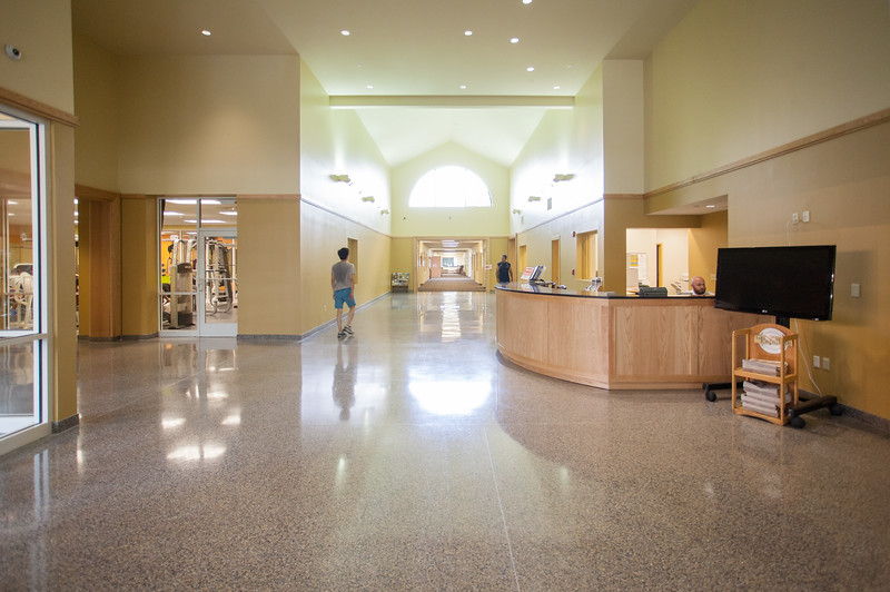 Interiors of the newly remodeled SRC.