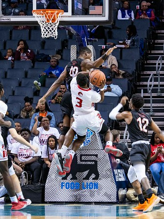 2020 CIAA Men's SF WSSU v CUU @ Spectrum Center 2-27-2020 by Ed Chavis