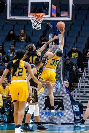 2020 CIAA Women's QF BSU v JCSU @ Bojangles Arena 2-26-2020 by Ed Chavis