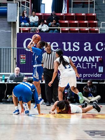 2020 CIAA Women's QF FSU v ECSU @ Bojangles Arena 2-26-2020 by Ed Chavis