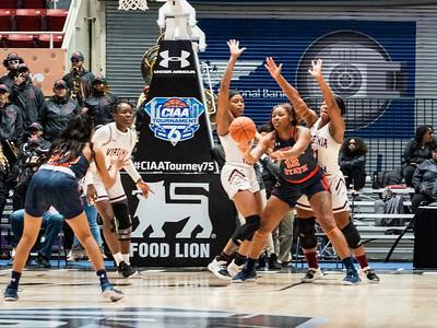 2020 CIAA Women's QF VSU v VUU @ Bojangles Arena 2-26-2020 by Ed Chavis