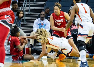2020 CIAA Women's QF WSSU v LU @ Bojangles Arena 2-26-2020 by Ed Chavis