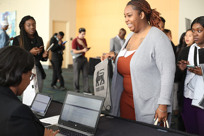 2020 CIAA Food Lion Career Day Booth @ Charlotte Convention Center 2-28-2020 by Marissa Carter