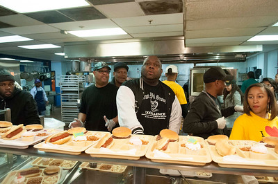 Bowie St Community @ The Men's Shelter 2-27-15