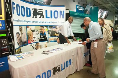 CIAA 2015 Food Lion Booth @ TWC Arena - Jon Strayhorn