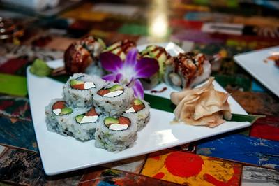 DeLeon Tequlia @ Eight Sushi 2-25-15