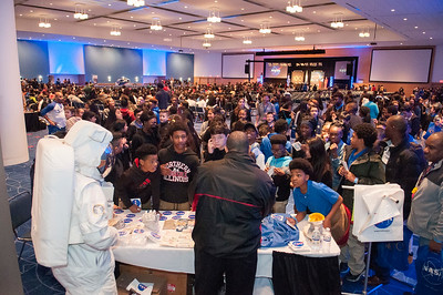 CIAA 2017 Education Day Middle School @ Charlotte Convention Center 2-23-17 by Jon Strayhorn