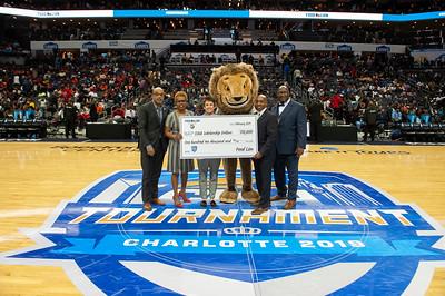 Food Lion CIAA Check Presentation @ Spectrum Arena 3-1-19 by Jon Strayhorn