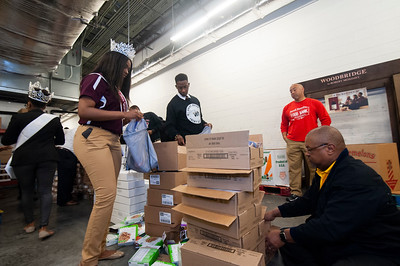Miss CIAA Community Service @ Food Lion Store #2203 & Starmount Academy of Excellence 3-1-19 by Jon Strayhorn