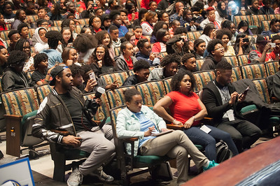 CIAA Middle School Education Day @ Ovens Auditorium 2-27-18 by Jon Strayhorn