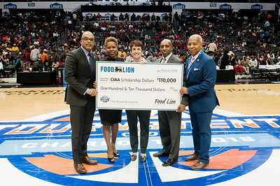 Food Lion CIAA Check Presentation @ The Spectrum Center 3-2-18 by Jon Strayhorn