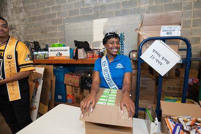Miss CIAA Community Service - Store 3207 & Shamrock Elementary 3-2-18 by Jon Strayhorn