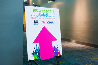 Food Lion CIAA Teen Summit with GirlTalk Foundation @ Charlotte Convention Center 3-1-18 by Jon Strayhorn