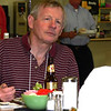 Joe Lych at lunch (with his Dos Equis)