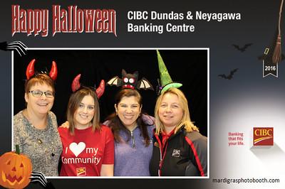 Photo Strips from CIBC Dundas & Neyagawa Halloween Event 2016