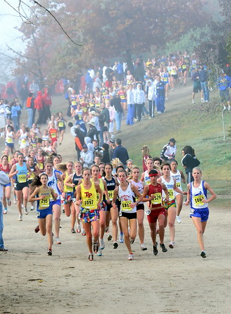CIF Cross Country State Championships, Division 1, Girls, 11/29/08