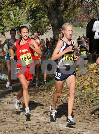 Cross Country State Championships, Division 2 Girls, 11/29/08