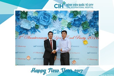 City International Hospital (CIH) Year End Party Photobooth