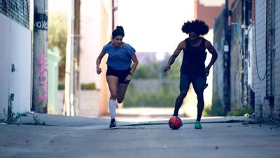 "Electric Futsal  ""Run""  Dir: Amie Steir"