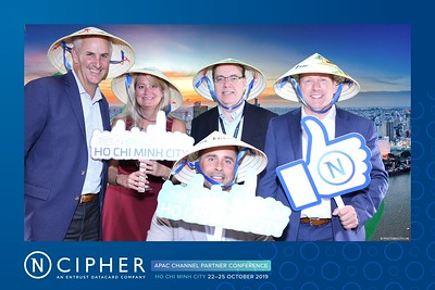 CIPHER | APAC CHANNEL PARTNER CONFERENCE | Greenscreen (Chromakey) instant print photo booth @ Le Meridien Sài Gòn | Chụp hình phông xanh in ảnh lấy liền Sự kiện tại TP. Hồ Chí Minh | Photobooth Saigon