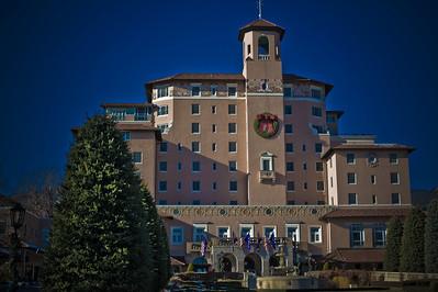 Broadmoor Hotel, Colorado Springs, CO November 2009