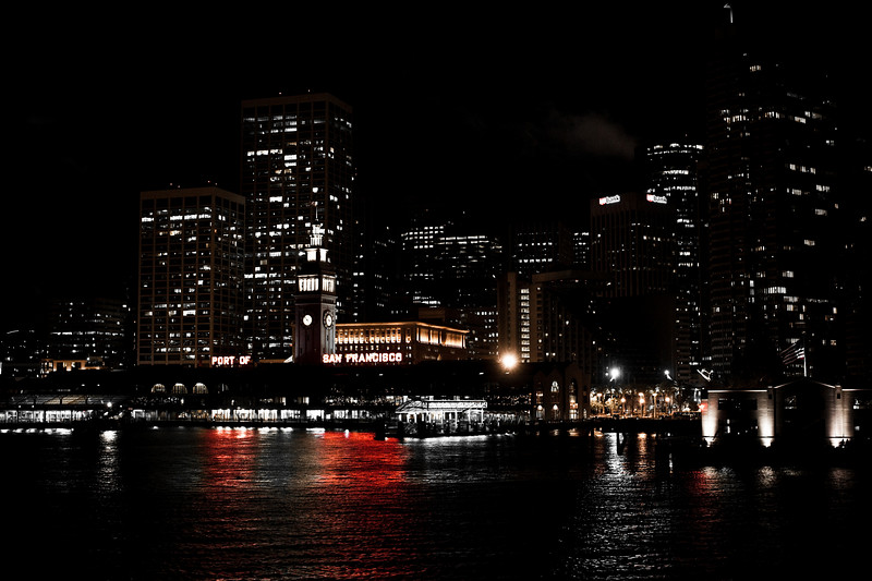 Port of San Francisco handheld at night. Gotta love the High-ISO of the Nikon D700