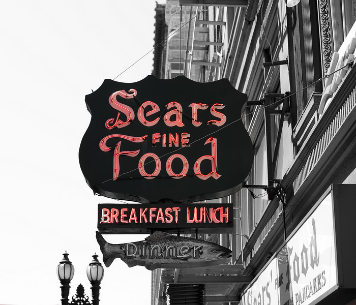 Sears restaurant San Francisco