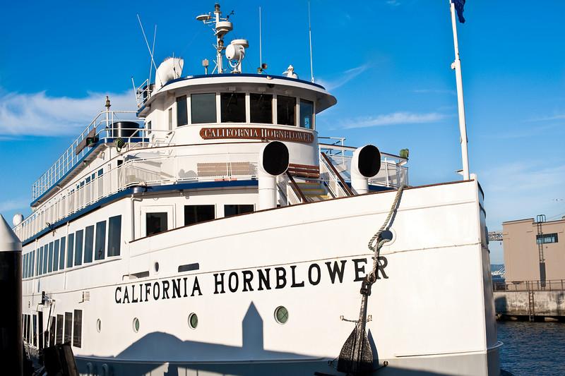 California Hornblower yacht dinner cruise.