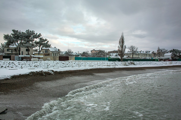 NOVOROSSIYSK - MYSKHAKO - WINTER BEACH