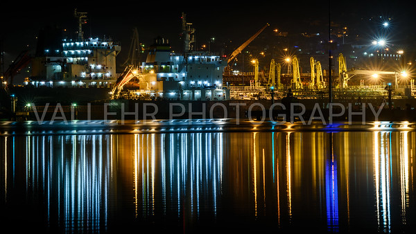 NOVOROSSIYSK - NIGHT PORT