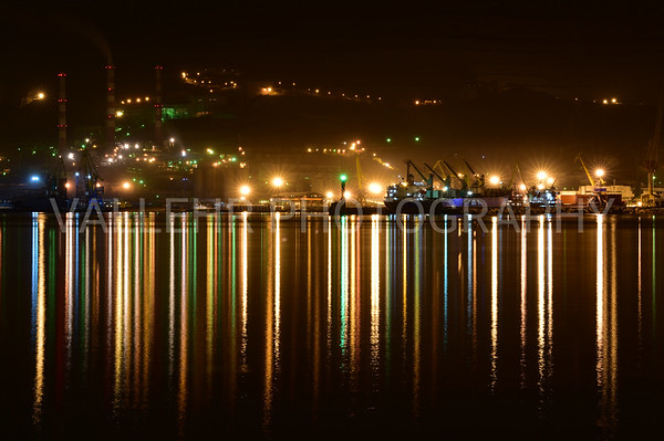 NOVOROSSIYSK - NIGHT HARBOUR