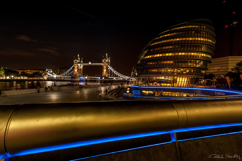 Tower Bridge from City Hall, London