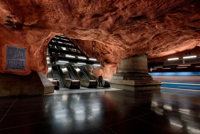 Radhuset Metro Station, Stockholm