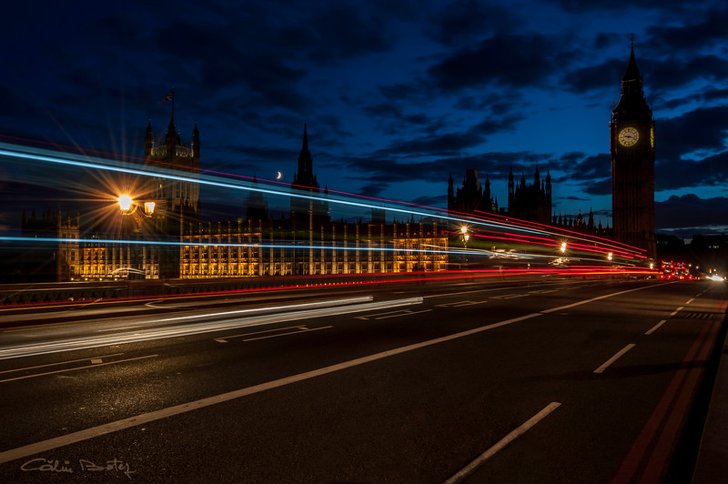Westminster Bridge, London. Another view