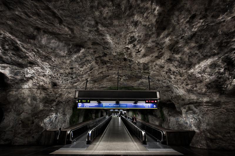 Metro Station, Stockholm