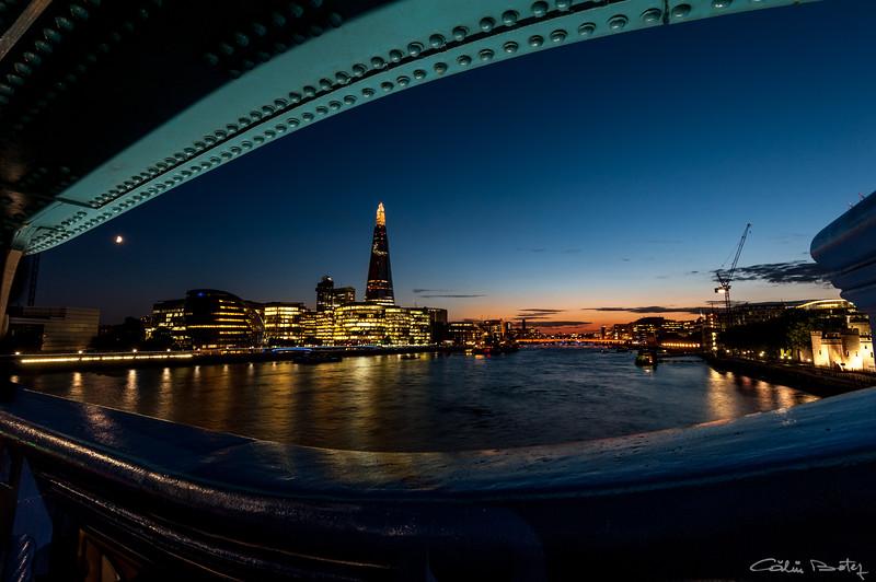 The Shard, London, from Tower Bridge