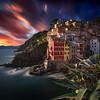 2017.25 - ItalyCT - Riomaggiore VIII - SunsetSky