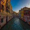 2016.119 - Venice XXIII - Canals at Dusk