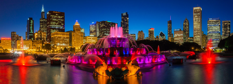 Buckingham Fountain - Chicago, Illinois
