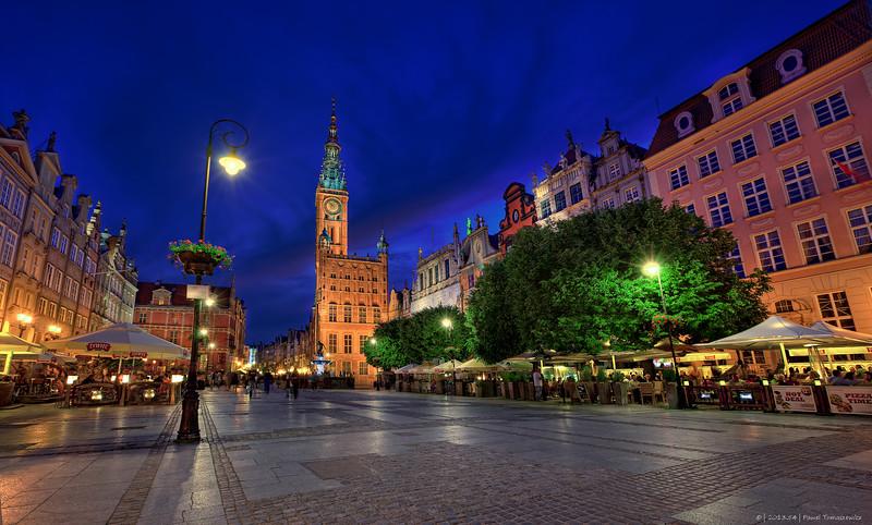 54.2013 - Gdansk - Dluga at Night