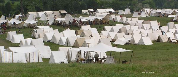 Confederate camp.